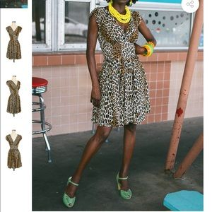 Trashy Diva 50's leopard Sandy Mini dress